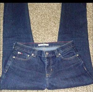 Tommy Hilfiger Straight Leg Blue Jeans Sz 6